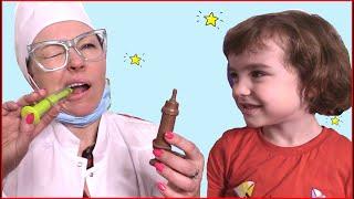 Макар и новая игра - челлендж шоколад как съедобное и настоящее