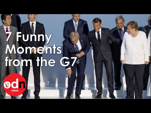 7 Funny Moments You Missed From The G7 In Biarritz