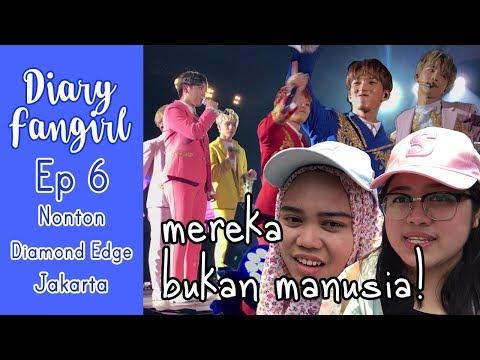 [ENG SUB] DIARY FANGIRL EP 6: Nonton Diamond Edge Jakarta (the truth behind FS-nim & MECIMA)