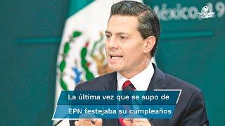 Contrario a exmandatarios como Vicente Fox y Felipe Calderón, Enrique Peña Nieto no ha expresado reacciones ante la consulta popular de López Obrador del próximo 1 de agosto
