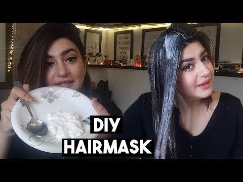 Super Glossy & Silky Hair OverNight | DIY Natural Hair Mask & Deep Conditioner | GLOSSIPS