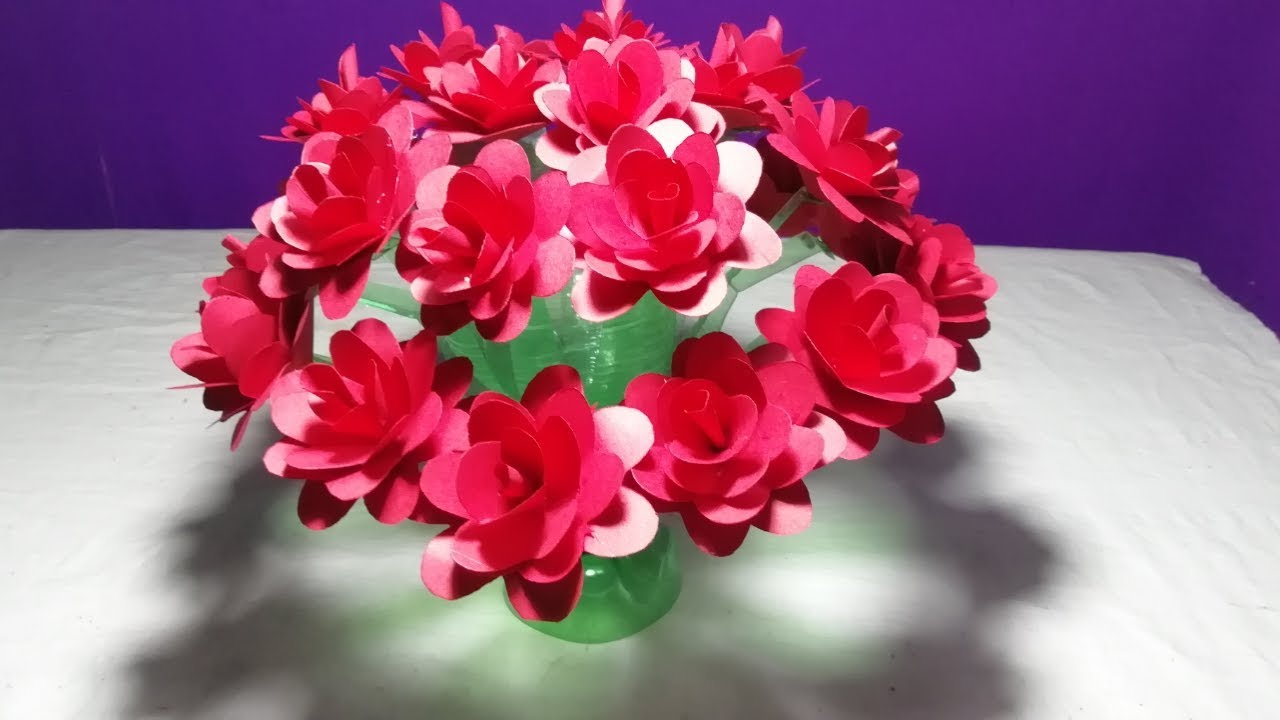 make beautiful rose flower how to make wonderful rose