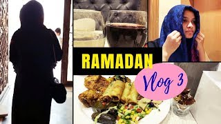 Ramadan Vlog 3 / a Treat for myself / How I wear my Hijab
