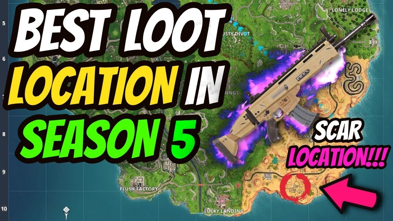 Top Places To Find The Best Loot: LEGENDARY SCAR LOCATION? HOW TO GET THE BEST LOOT EVERY