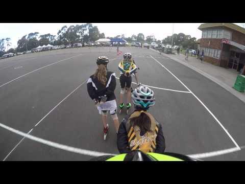 Inline speed skating Australia 2015