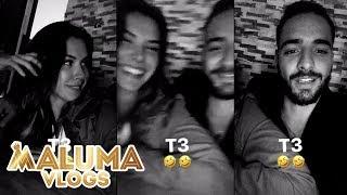 Maluma y Daniela hacen un videito muy gracioso / F.A.M.E | MalumaVlogs
