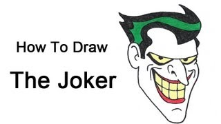 How to Draw The Joker (Batman: The Animated Series)