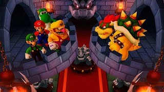 Mario Party The Top 100 MiniGames - Yoshi Vs Mario Vs Luigi Vs Wario (Master CPU)