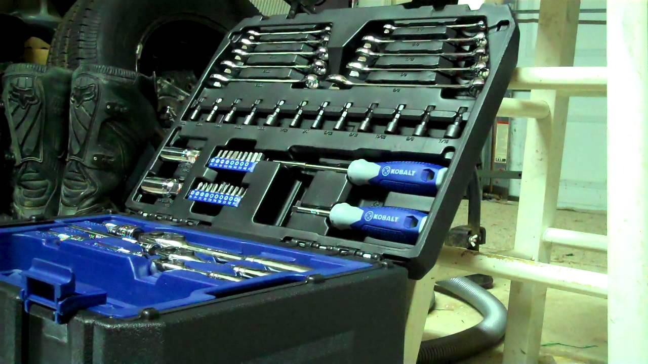 Kobalt 227pc tool kit youtube
