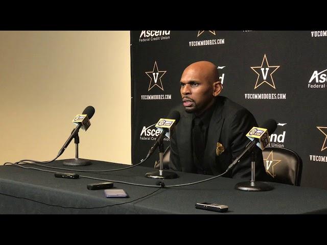 Vanderbilt Commodores Coach Jerry Stackhouse Postgame Interview (1-18-20)