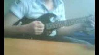me playin guitar
