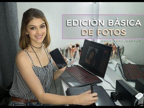 Edición Básica de Fotos - Makeup