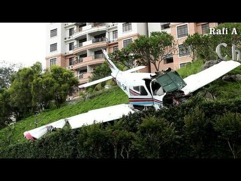 Airplane Crash in Melaka