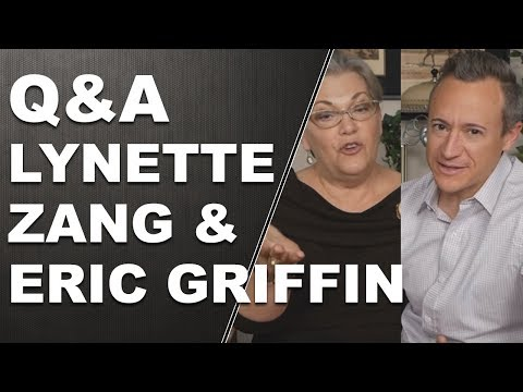 Q & A with Lynette Zang and Eric Griffin 12/5/2017