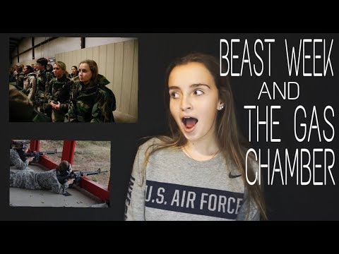 BEAST WEEK & THE GAS CHAMBER | Air Force Basic Training 2017
