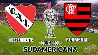 Independiente 2 x 1 Flamengo (06/12/2017) Final da Copa Sulamericana 2017 [PES 2018]