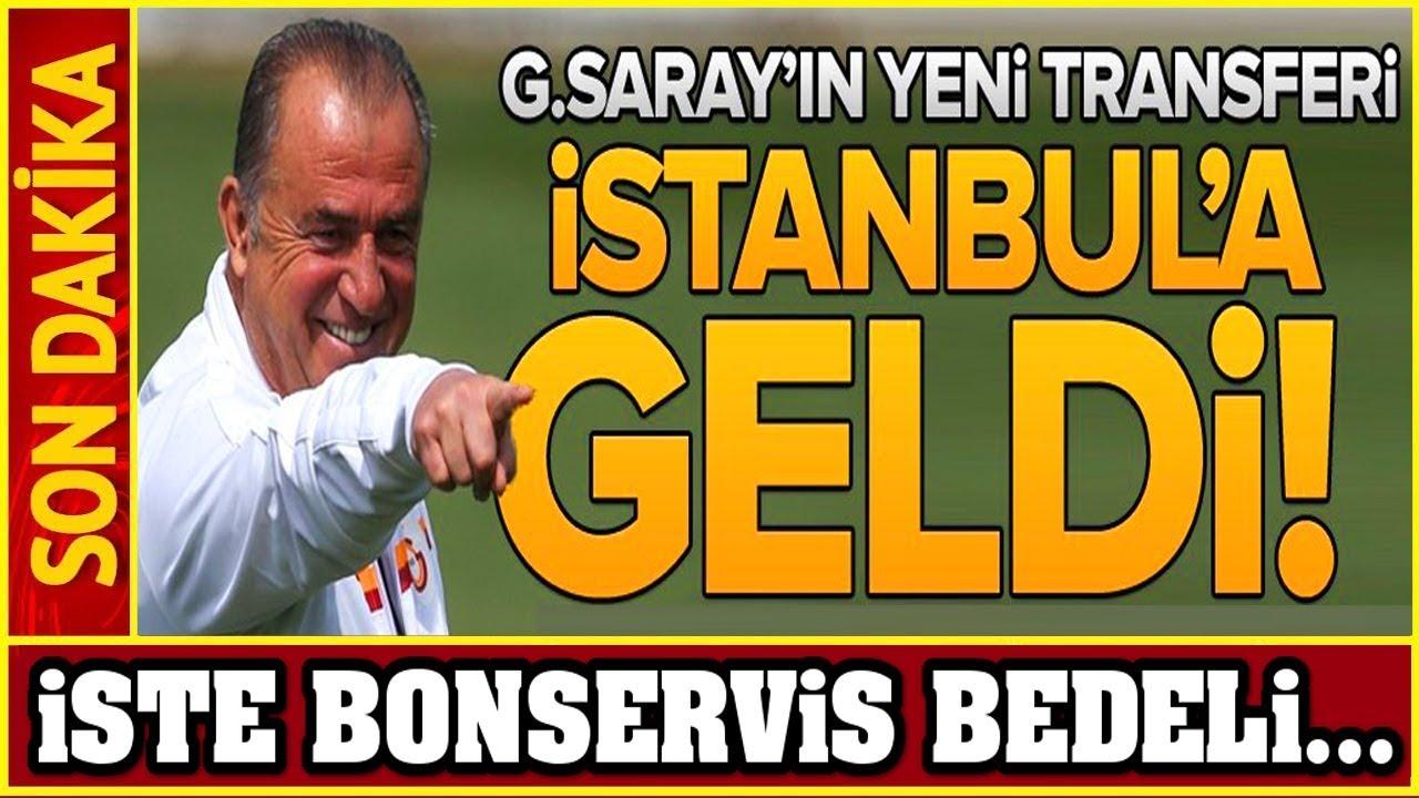 Galatasaray'ın Yeni Transferi İstanbul'a Geldi! İşte Bonservis Bedeli... Youtube