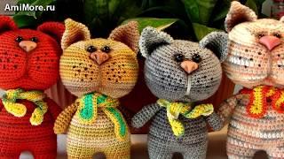 Амигуруми: схема Котика. Игрушки вязанные крючком. Free crochet patterns. Free crochet patterns.