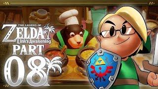 The Legend of Zelda: Link's Awakening (Nintendo Switch) Part 8 - Animal Village