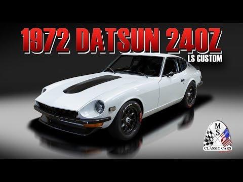 1972 Datsun 240Z LS Custom - Going to Barrett-Jackson in Scottsdale, Arizona