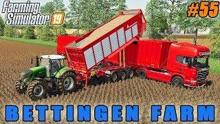 Harvesting barley and poplar, selling wood chips | FS 19 | Bettingen Farm | Timelapse #55