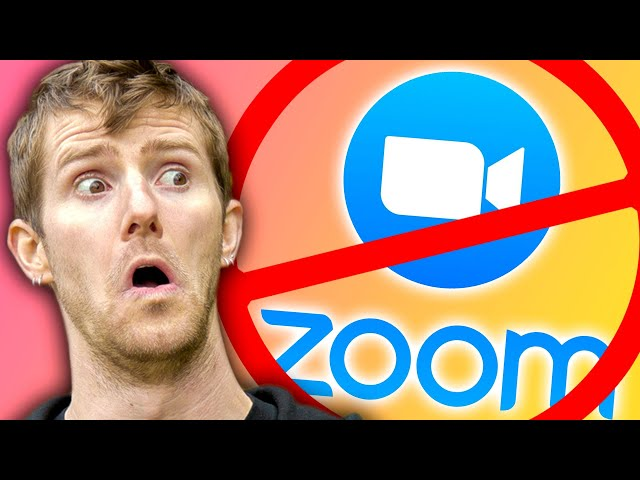 Stop Using Zoom.