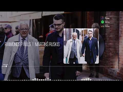 """Mārtiņš Ruskis - """"Vakar, šodien un mūžam"""" (Teksta video)"""