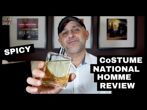 CoSTUME NATIONAL Homme Review + Full Bottle USA Giveaway