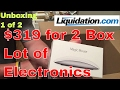 Another day Unboxing Electronics from Liquidation.com Box 1 of 2 and Sold Updates!!