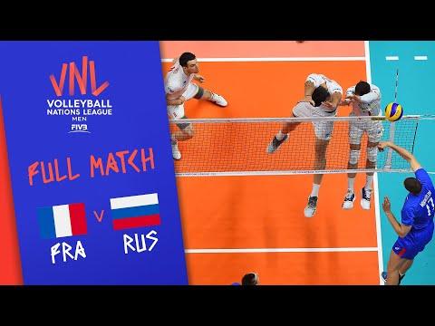 France V Russia - Full Match - Final | Men's VNL 2018