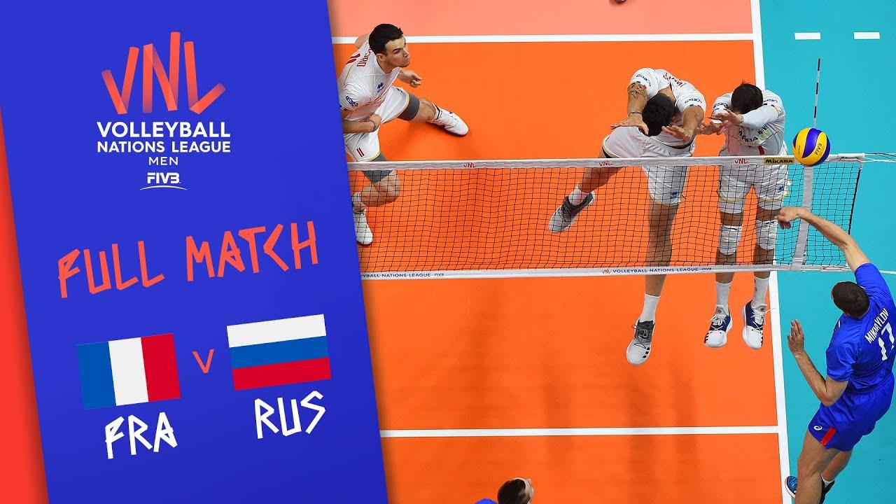 Download France v Russia - Full Match - Final | Men's VNL 2018