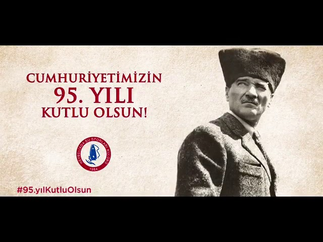 Cumhuriyetimizin 95. yılı kutlu olsun!