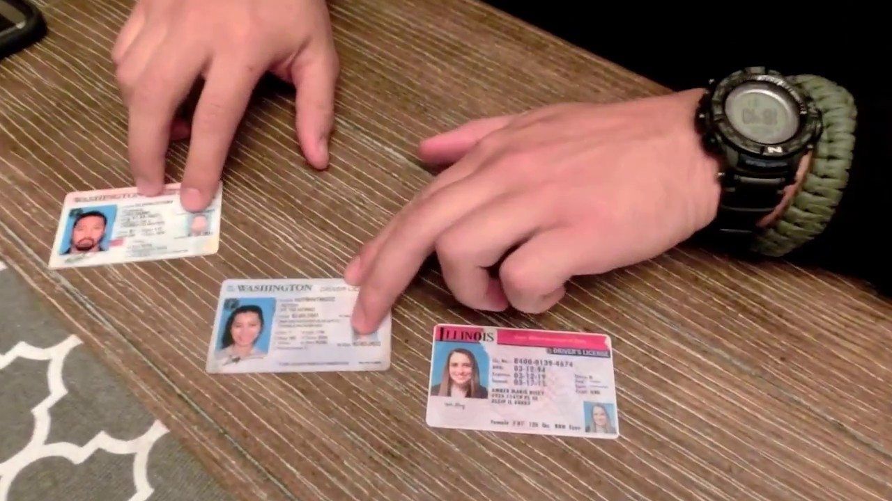 - To Youtube How Spot Microprint Fake Id's