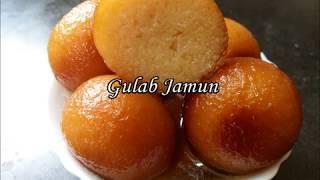 Gulab Jamun with Milk Powder   Easy to make Gulab Jamun