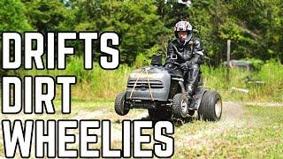 50HP Mower Drifting & Wheelies | 670CC SEND OFF