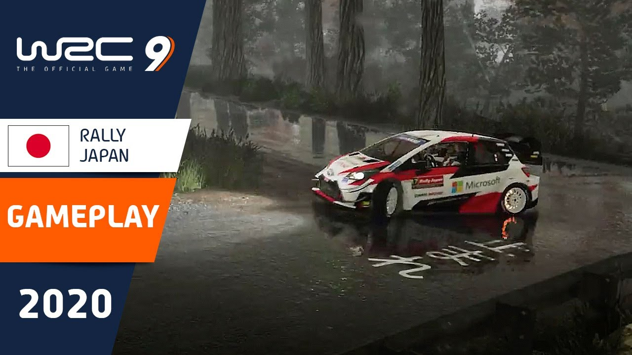 WRC 9: Gameplay video from RALLY JAPAN!