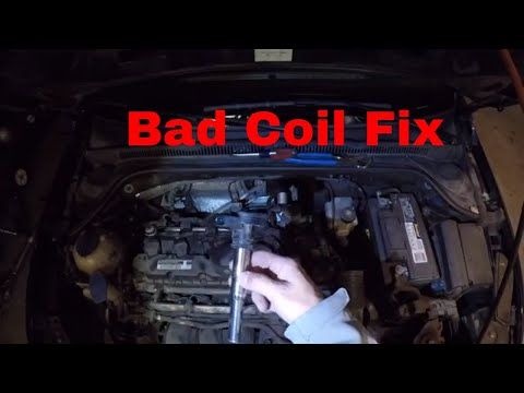 How to diagnose a misfire on a Volkswagen Jetta