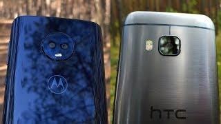 Motorola Moto G6 vs HTC One M9 - Camera Test (2018 mid-range vs 2015 flagship)