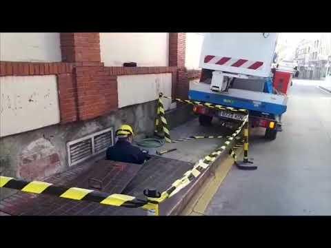 Un apagón deja sin luz calles del centro de Lugo