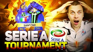 Fifa 16 serie a tournament / sweaty serie a squad with tots players / how to win ea sports cups