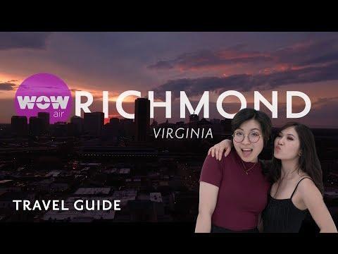 ✿ WOW Air Travel Guide Application | Richmond, Virginia ✿