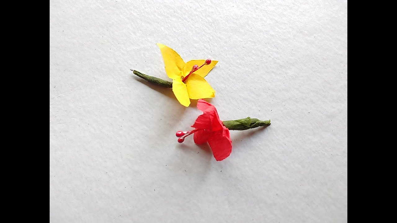 How to make tiny flower youtube how to make tiny flower mightylinksfo