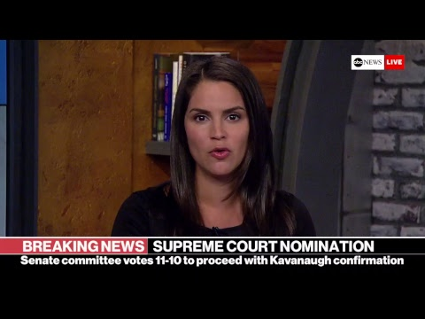 Watch Kavanaugh Nomination Vote: Flake calls for delay, investigation | ABC News