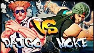 Daigo Umehara ( Guile ) in a ultra competitive first to 10 against ...