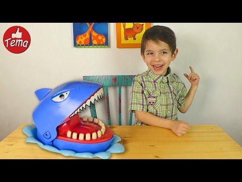 Кого акула схватит за палец Настольная игра акулья охота