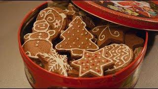 Имбирное печенье | Новогодние рецепты