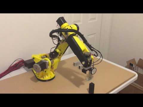 3D printed  6 axis stepper motor robot - Gen2