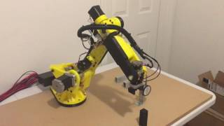 3D printed  6 axis stepper motor robot - Gen2