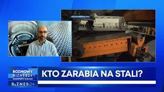 Prezes Stowarzyszenia Stali Nierdzewnej Andrzej Michalski-Stępkowski o rosnących cenach stali.