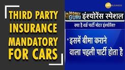 Money Guru: Third party insurance mandatory new cars